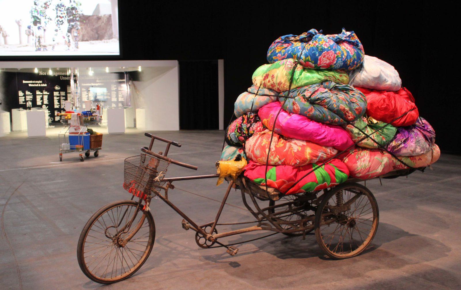 artgeneve 2020 vélo- tissus