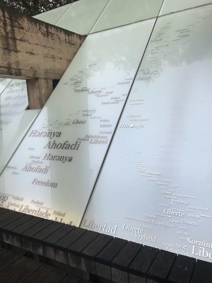 Nantes, memorial abolition esclavage - liberté