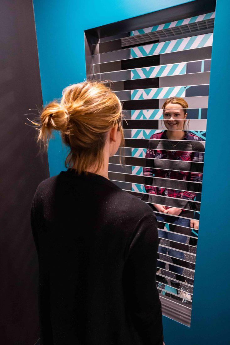 Paris Musée de l'Illusion - miroir