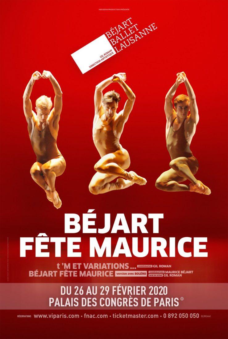 Béjart fête Maurice 2020 Affiche