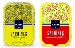 Sardines citron tomates La Perle des Dieux