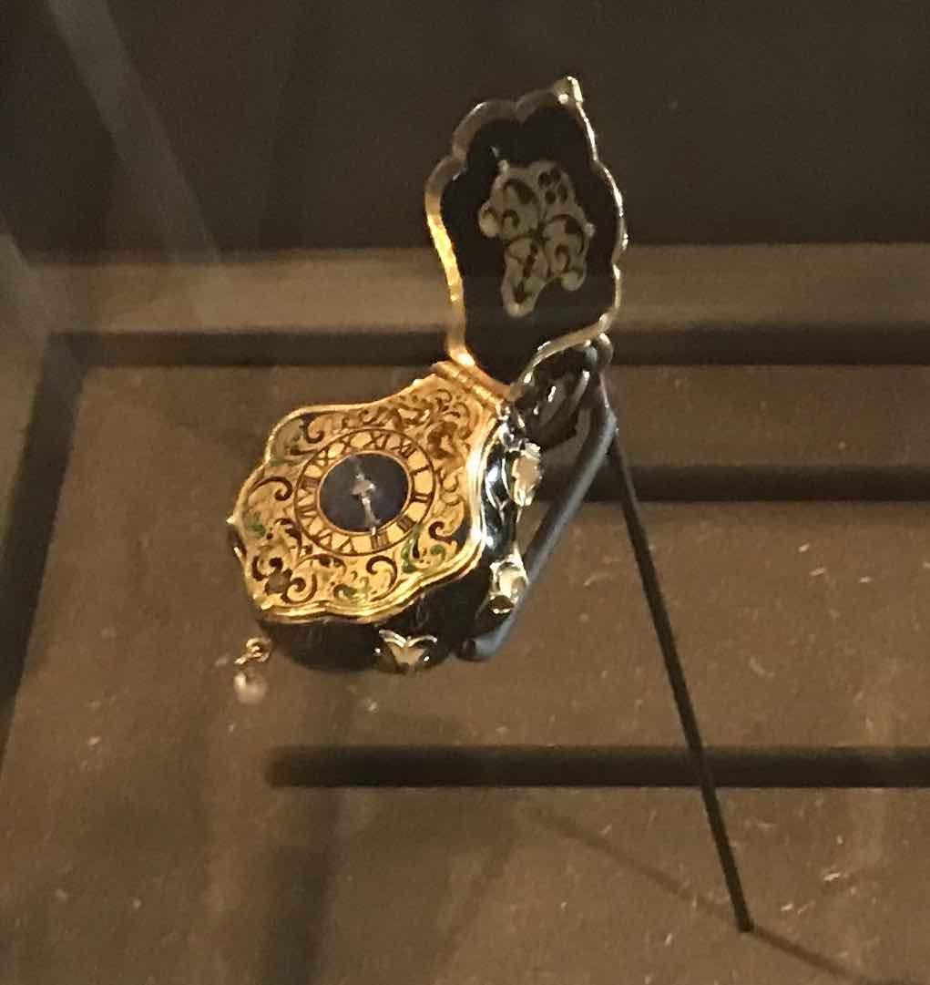 montre pendentif de Gaspard Cameel