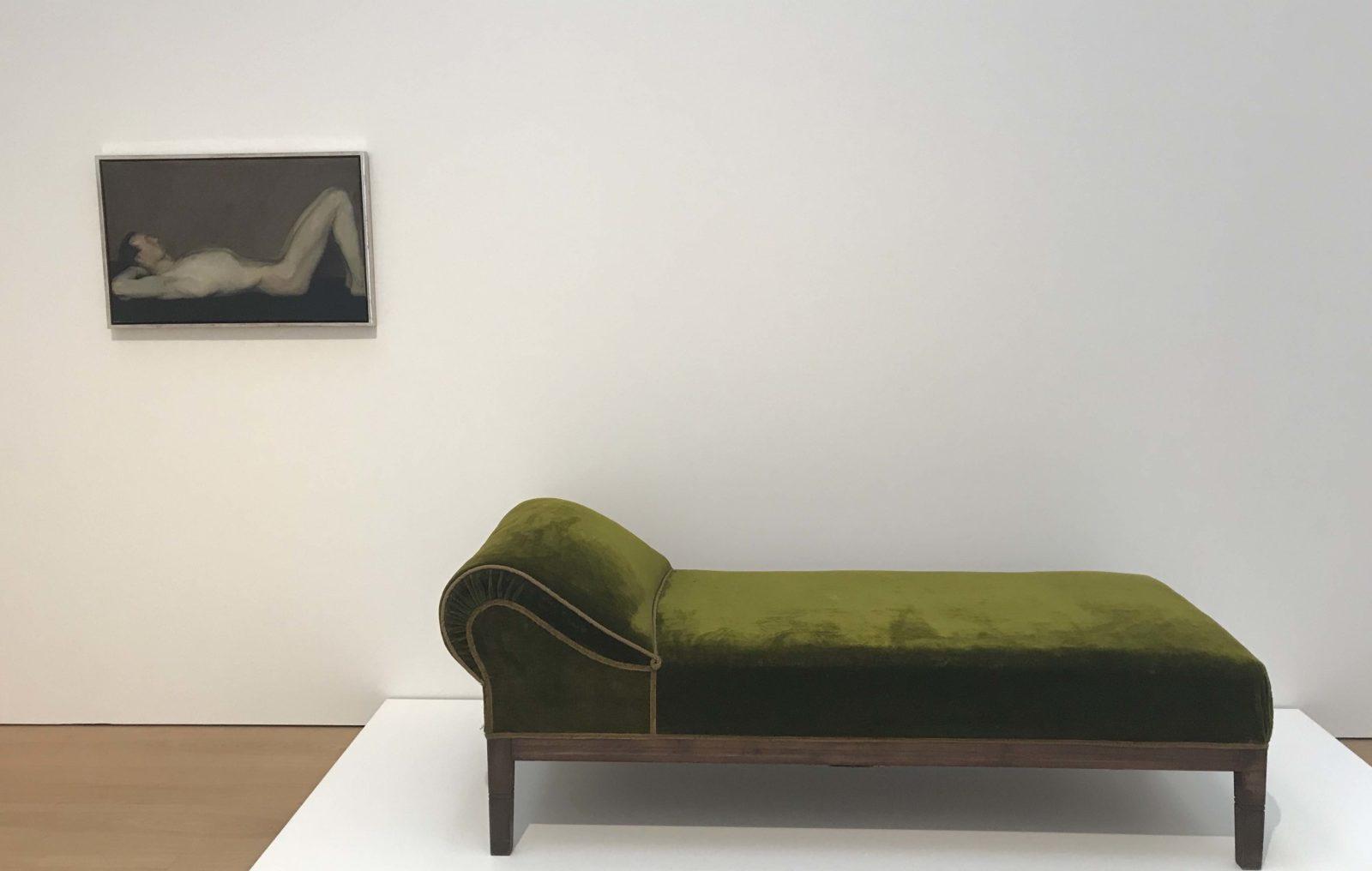 Adlof Loos) Divan, Max Kurzweil. Homme nu allongé