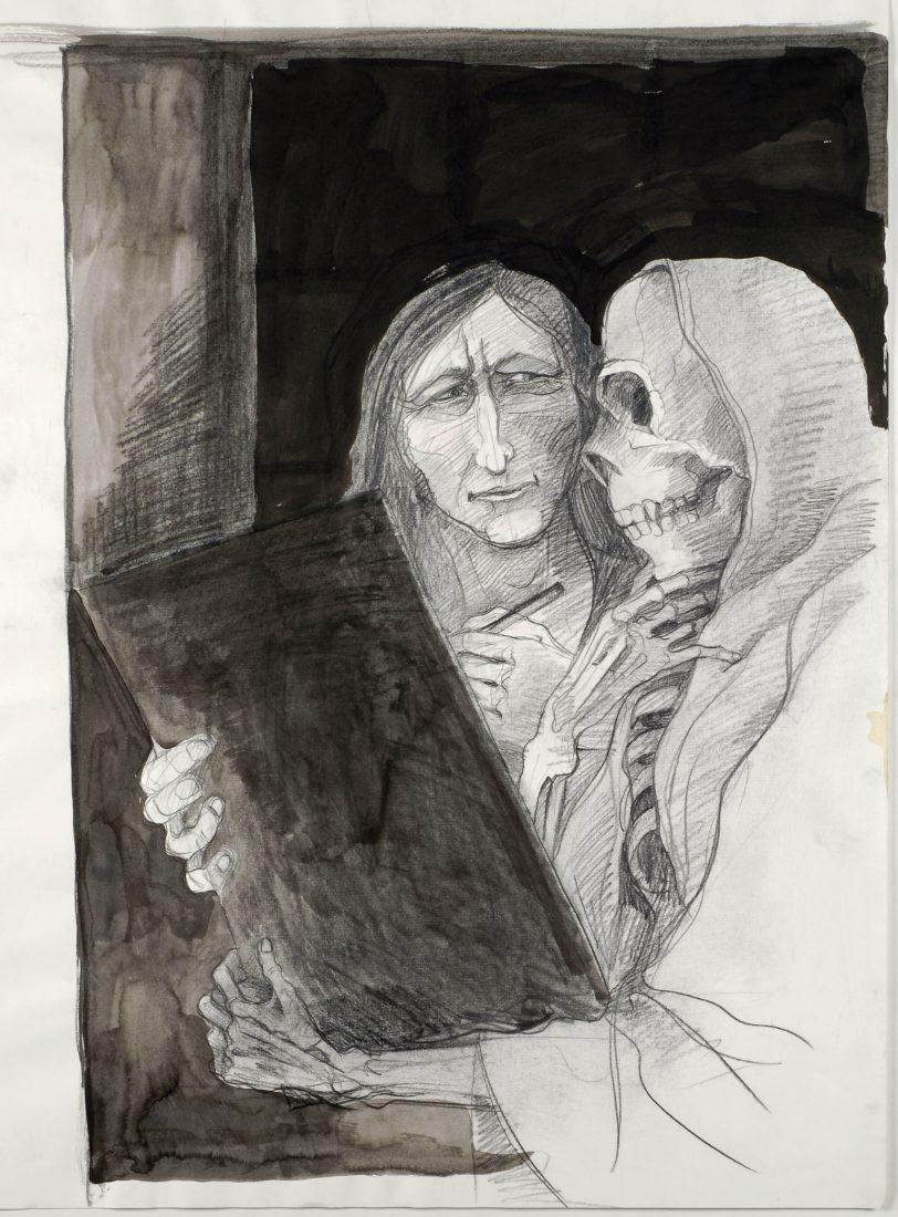 L'Autoportrait à la mort Tomi Ungerer