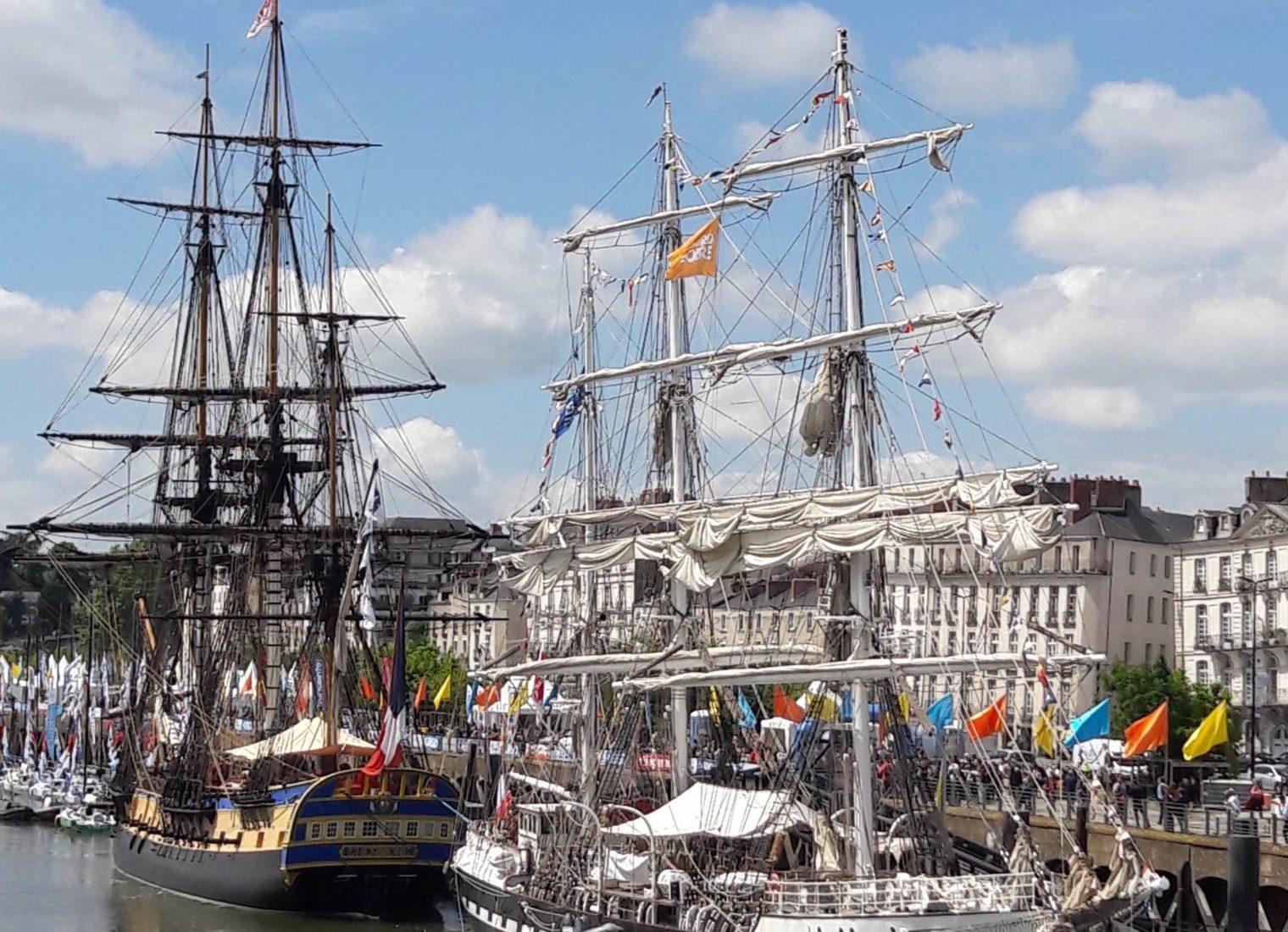 Nantes le port le Bélem