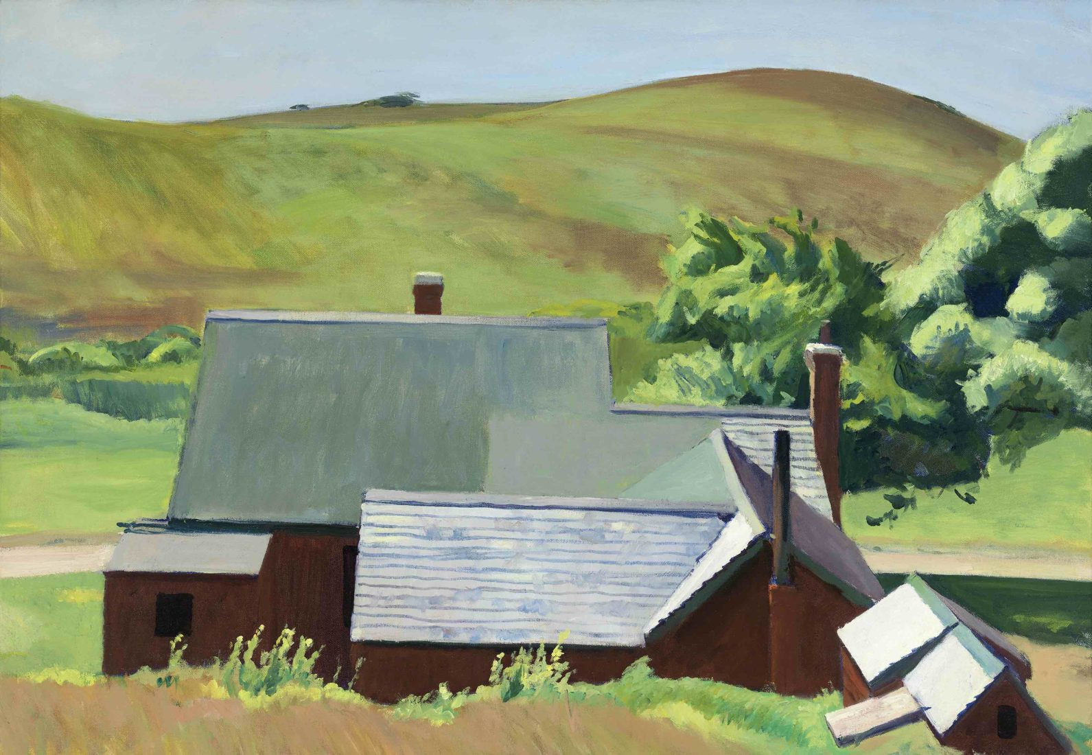 EDWARD HOPPER BURLY COBB'S HOUSE, SOUTH TRURO, 1930–1933
