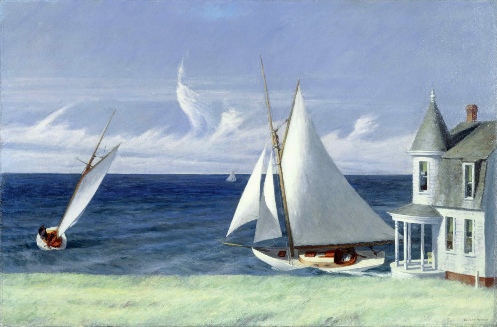 EDWARD HOPPER LEE SHORE, 1941