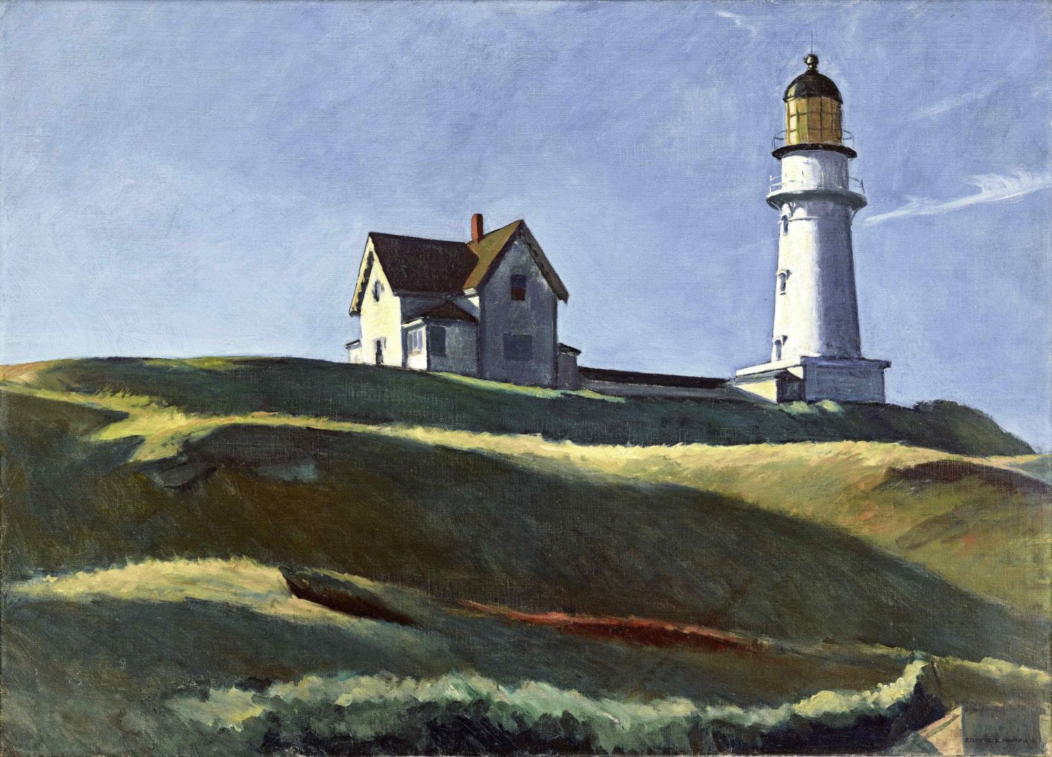 EDWARD HOPPER LIGHTHOUSE HILL, 1927