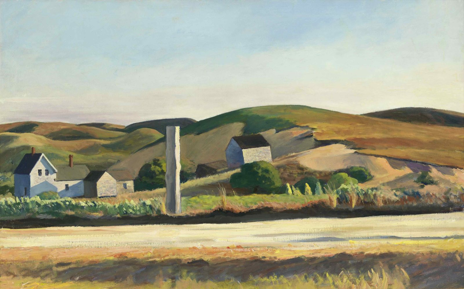 EDWARD HOPPER ROAD AND HOUSES, SOUTH TRURO, 1930–1933