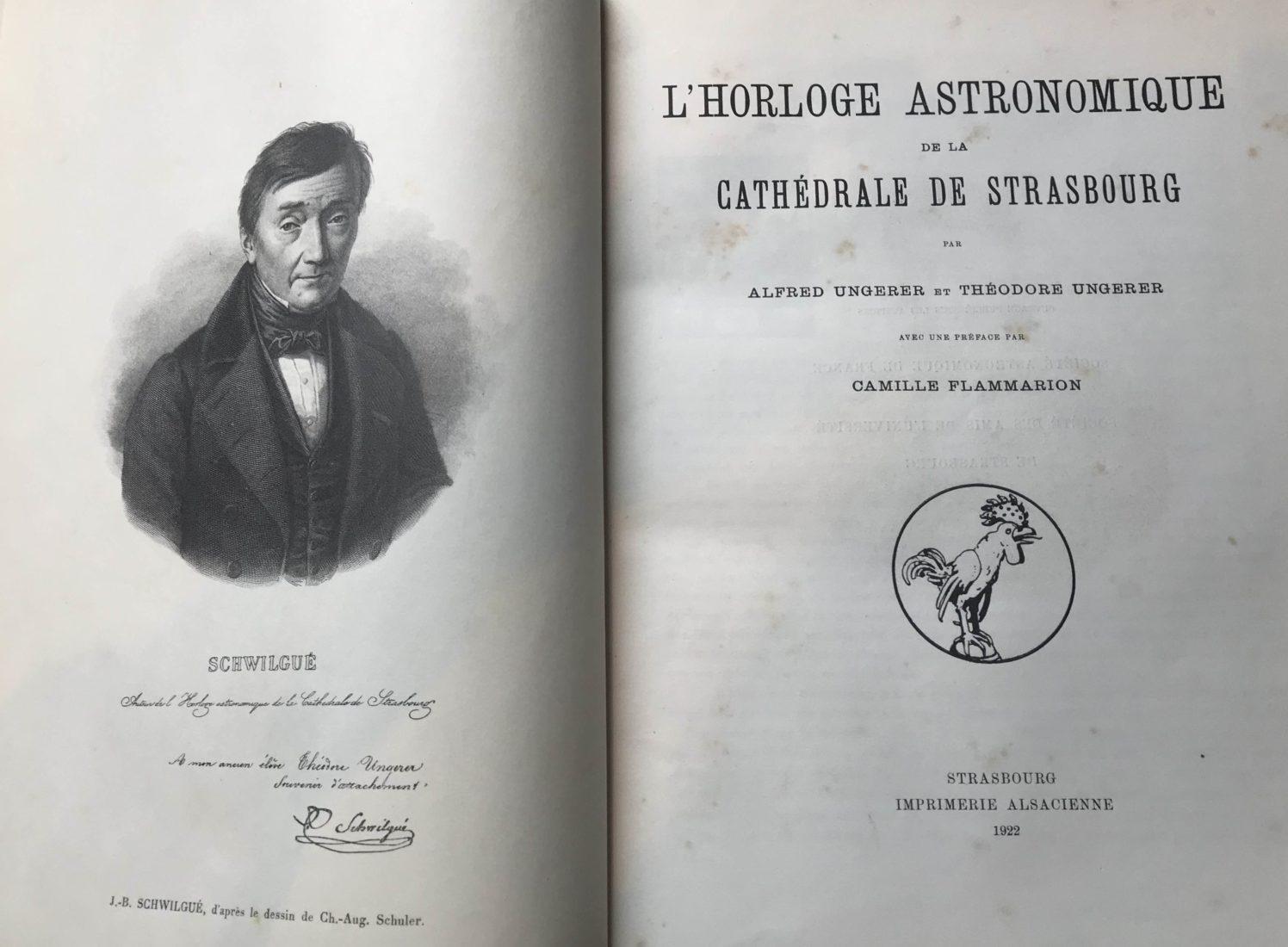 Horloge astronomique Cathédrale Strasbourg Alfred et Théodore Ungerer