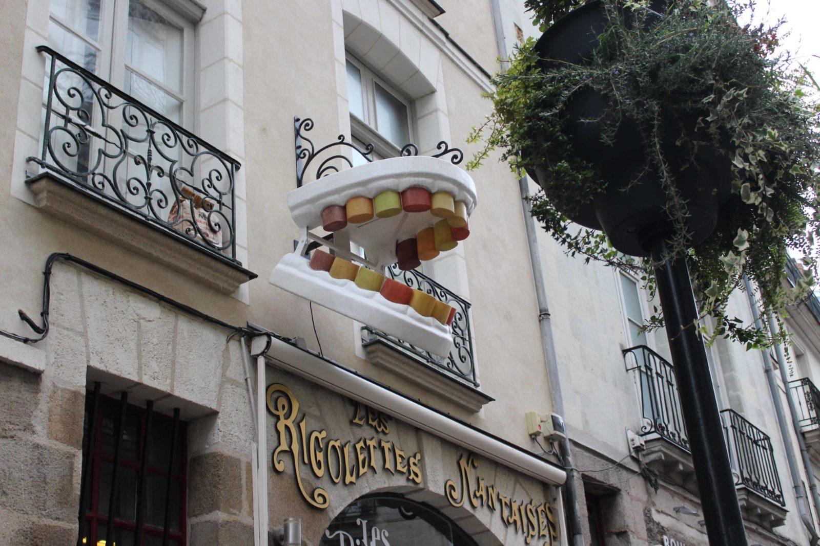 Nantes enseigne Rigolettes