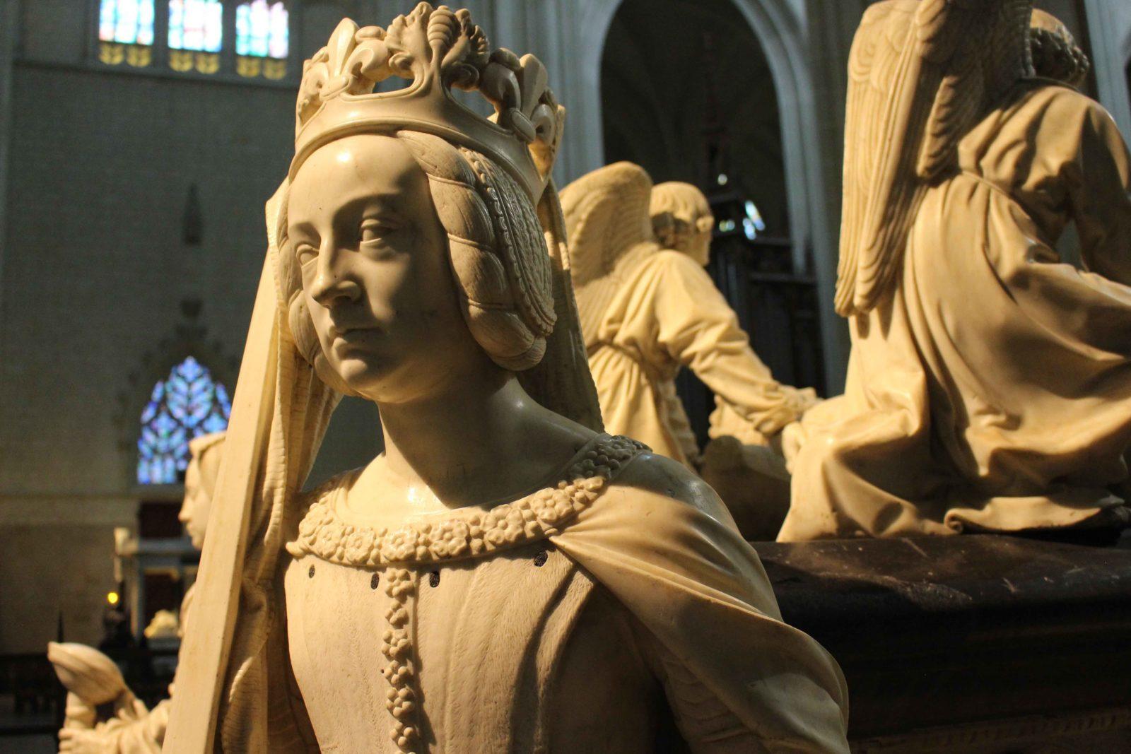Nantes Cathédrale St Pierre-et-Saint-Paul Statues