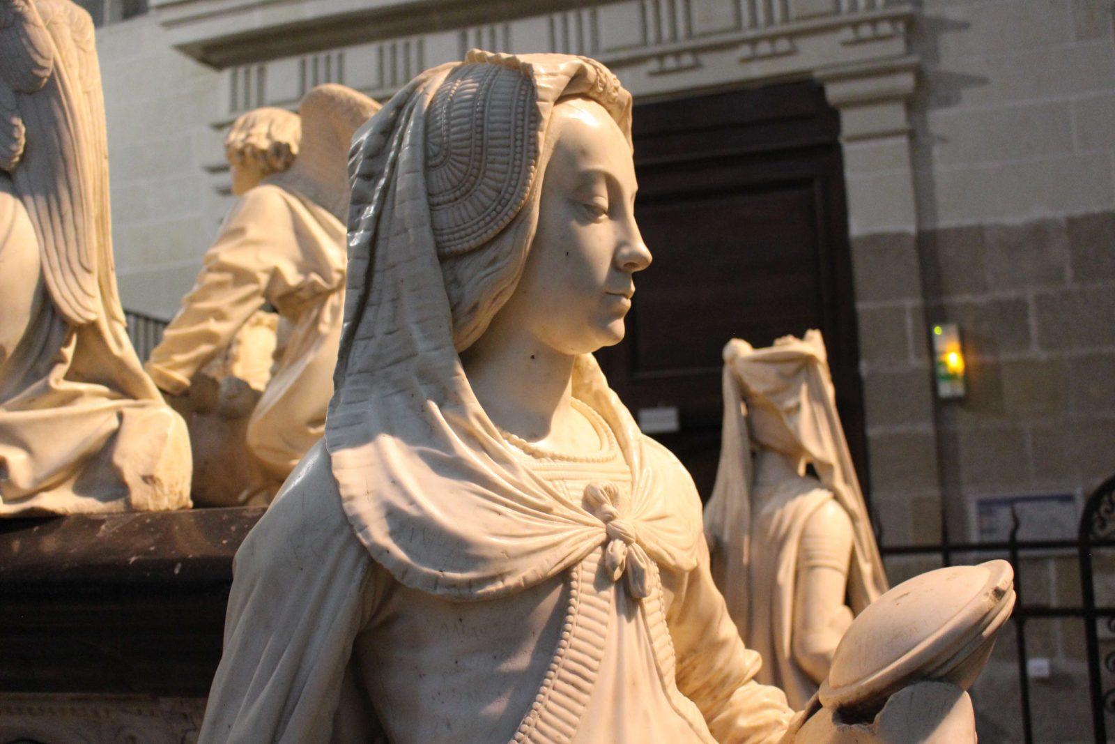 Nantes Cathédrale St Pierre-et-Saint-Paul Statue La Prudence