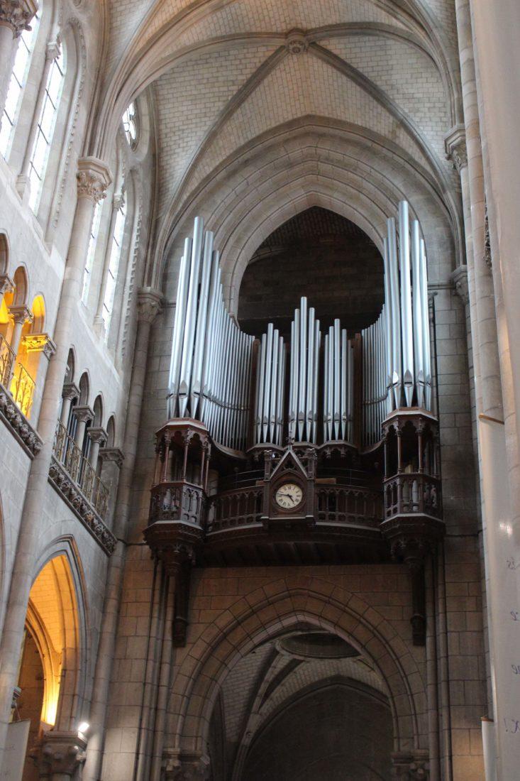 Nantes Cathédrale St Pierre-et-Saint-Paul l'orgue