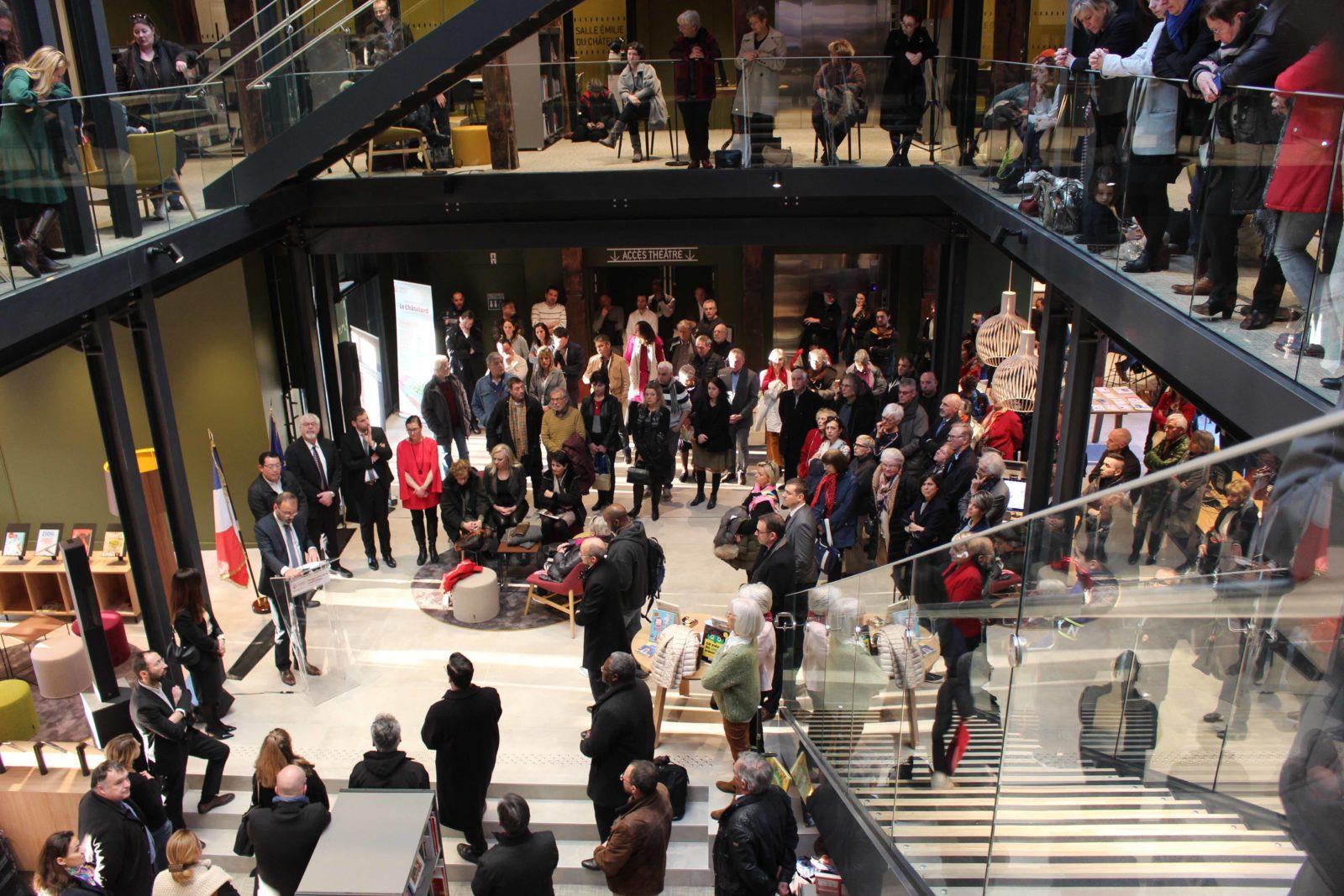médiathèque de Ferney-Voltaire inauguration
