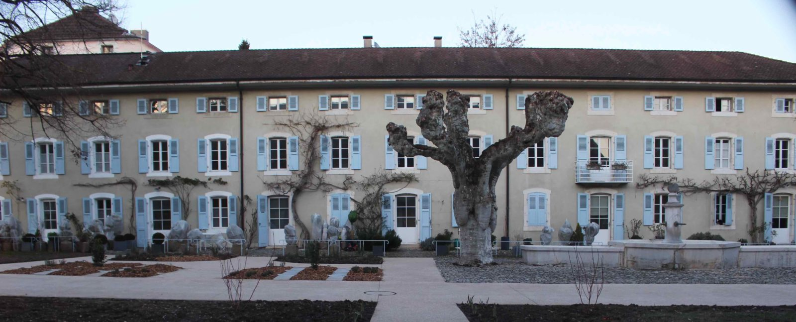médiathèque de Ferney-Voltaire Logements ouvriers