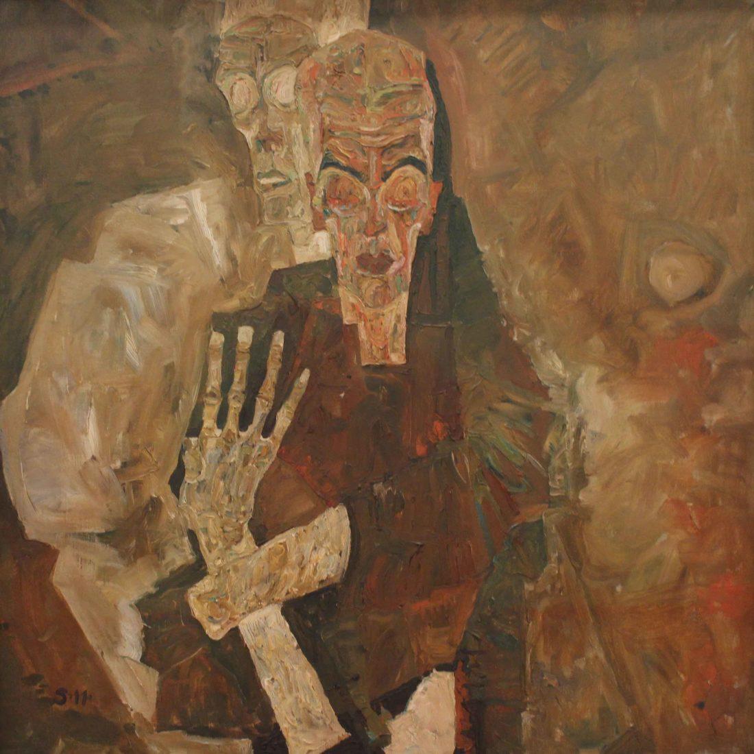 Egon Schiele, Visionnaire II (La Mort et l'homme)