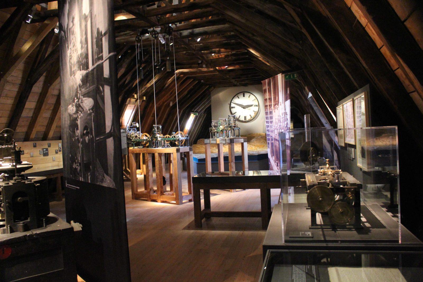 Musée du Temps Besançon exposition horloges Ungerer Schwilgué