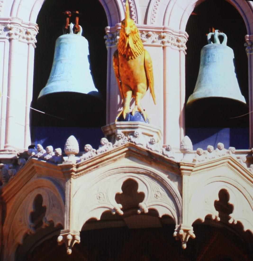 Messine Horloge astronomique Le coq chante 3 fois