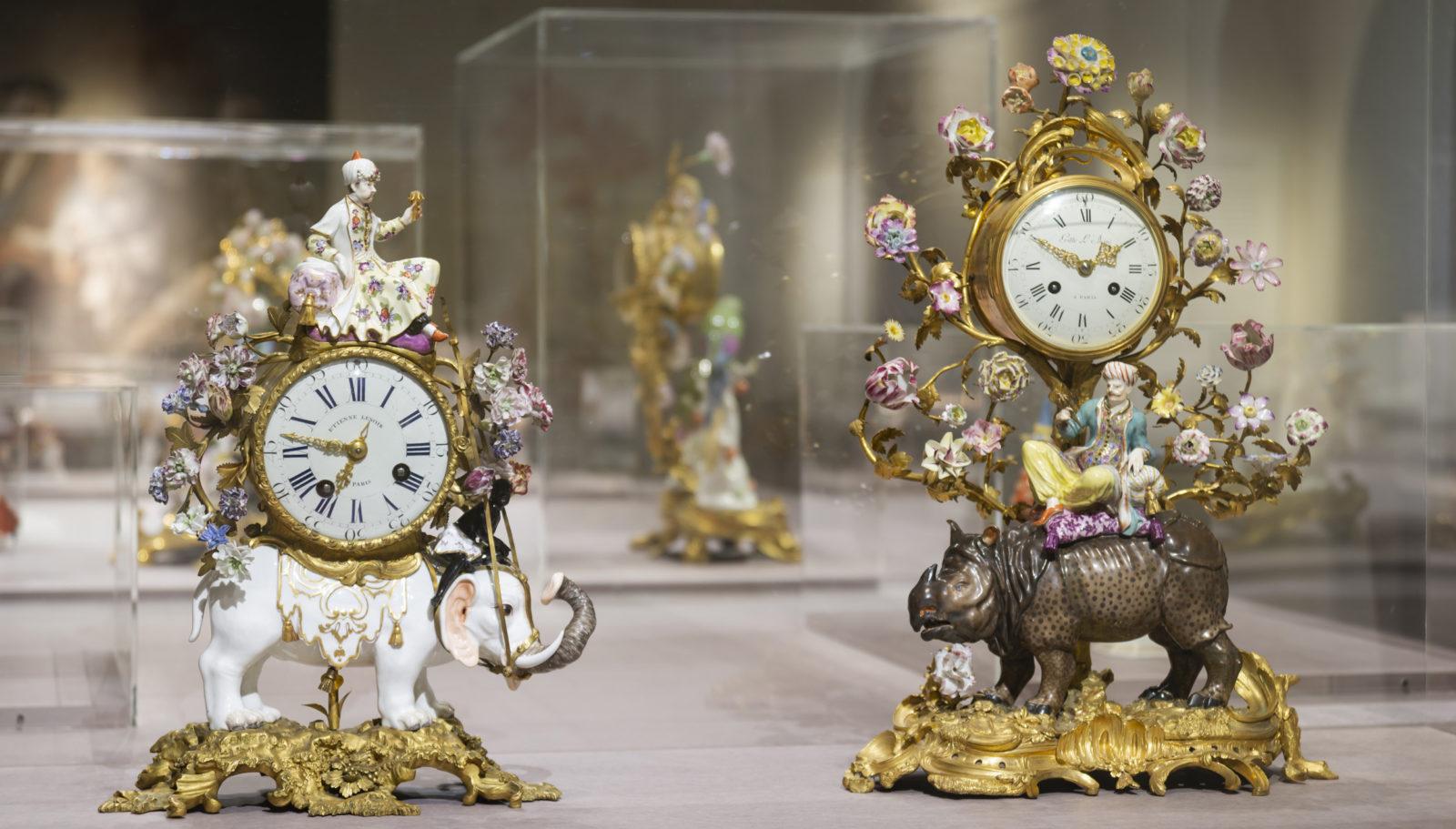 Ariana Genève Meissen • Folies de porcelaine Pendules