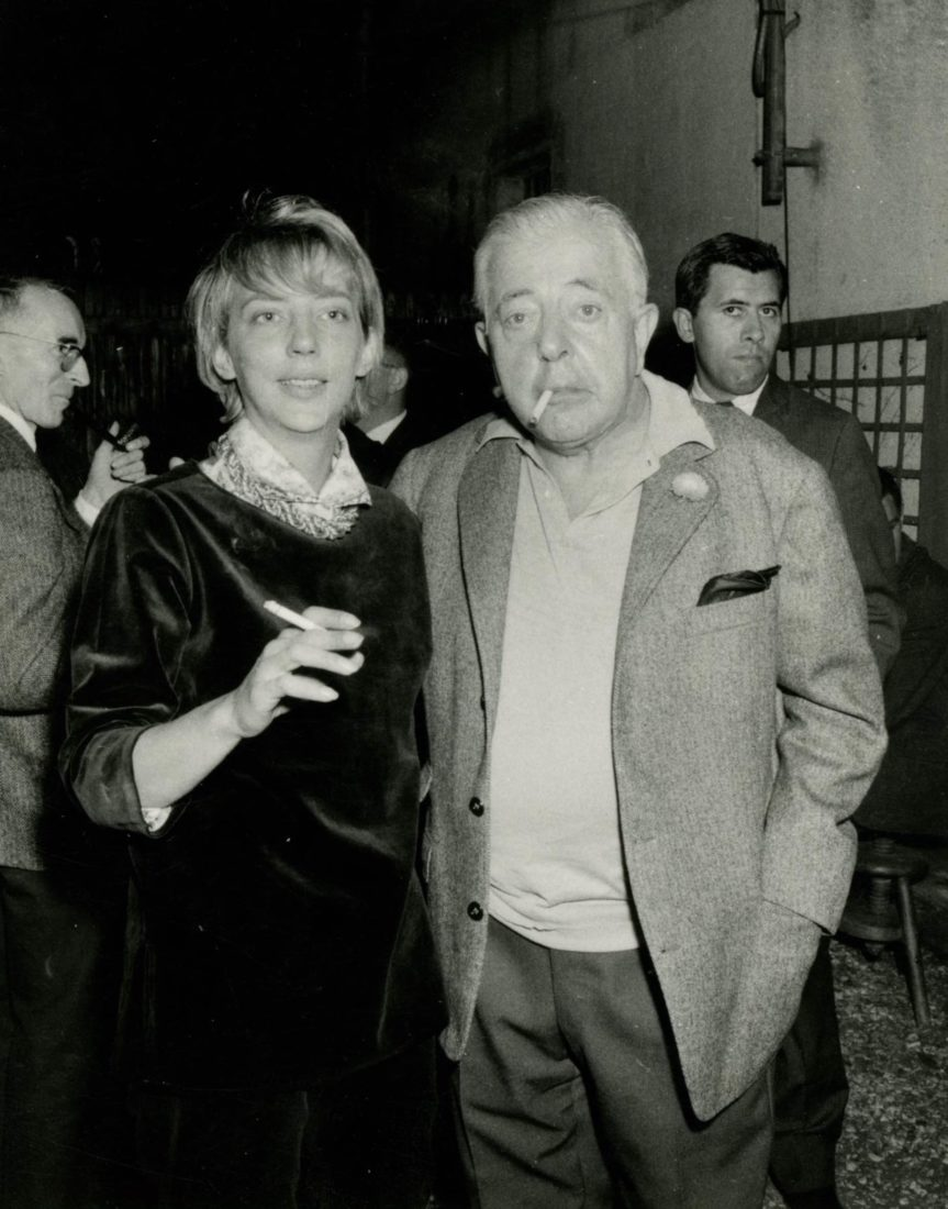 Ursula Vian et Jacques Prévert