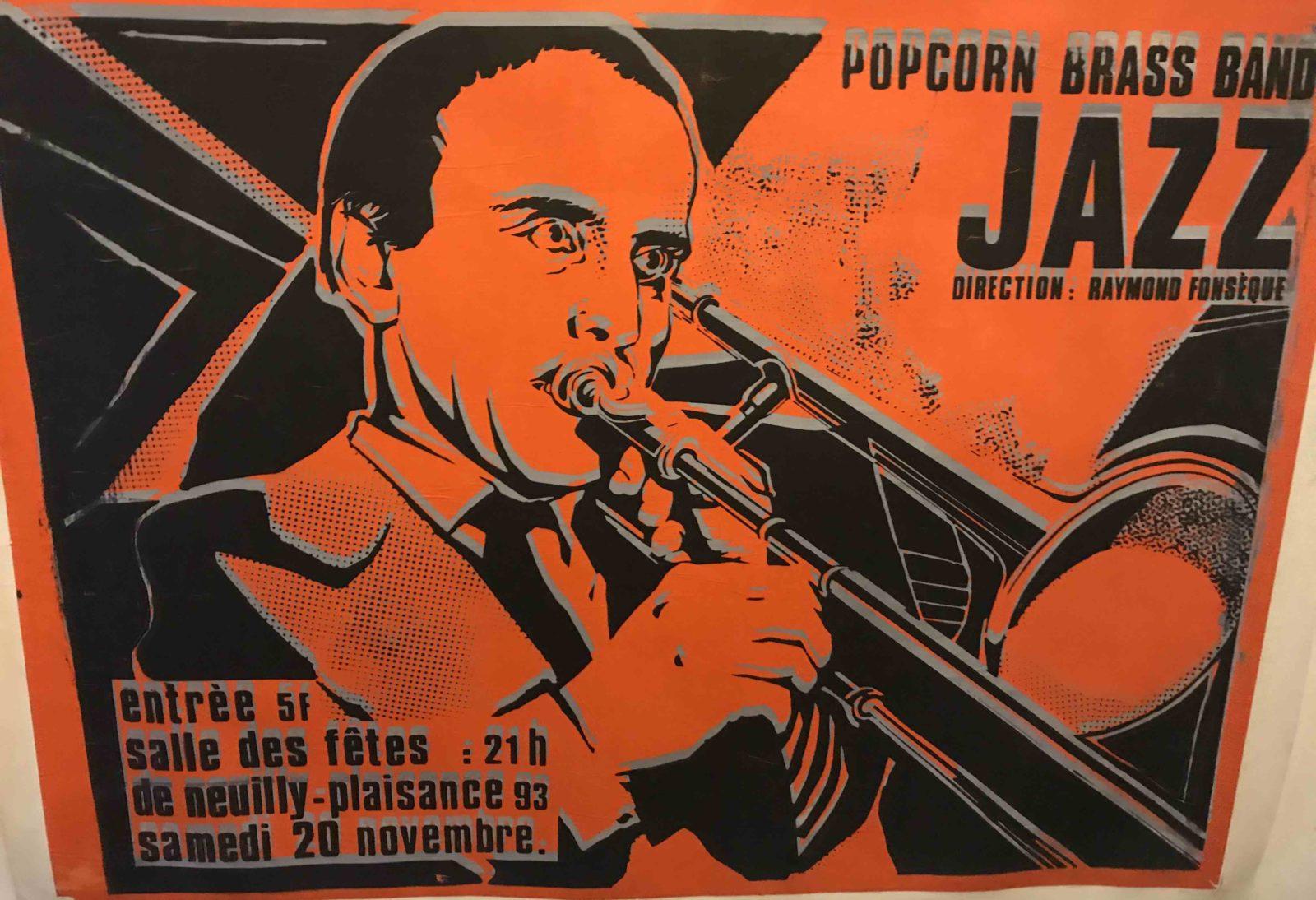 Affiche Jazz Boris Vian