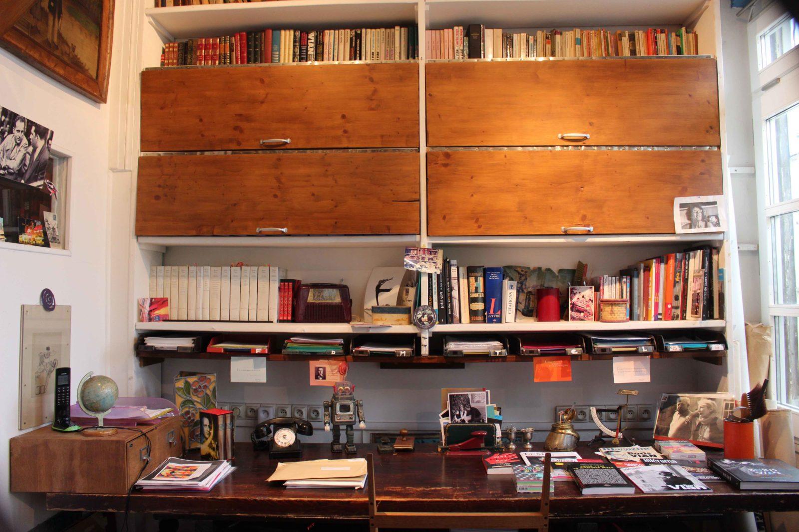 Cité Véron l'atelier-bureau de Boris Vian