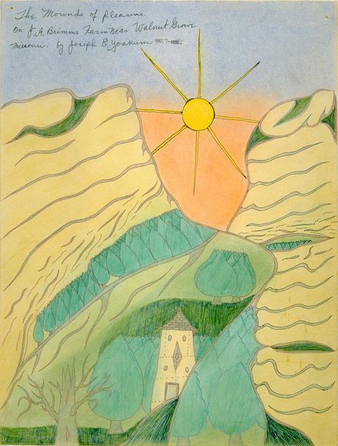Joseph Yoakum, The Mounds of Pleasure