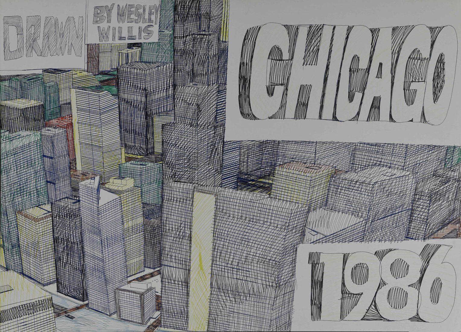 Wesley Willis Chicago 1986,