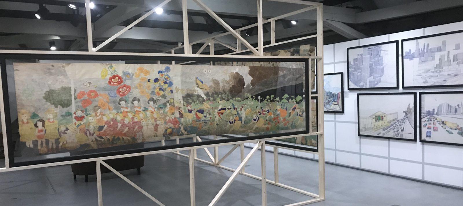 Salle d'exposition Collection Art Brut Lausanne