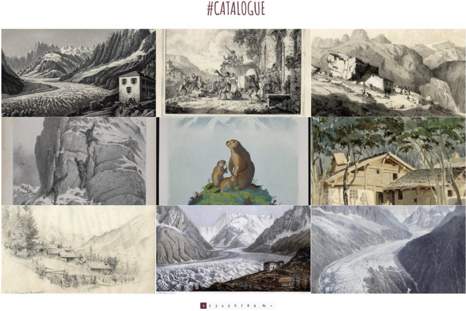 catalogue - musées alpins de Chamonix et Turin