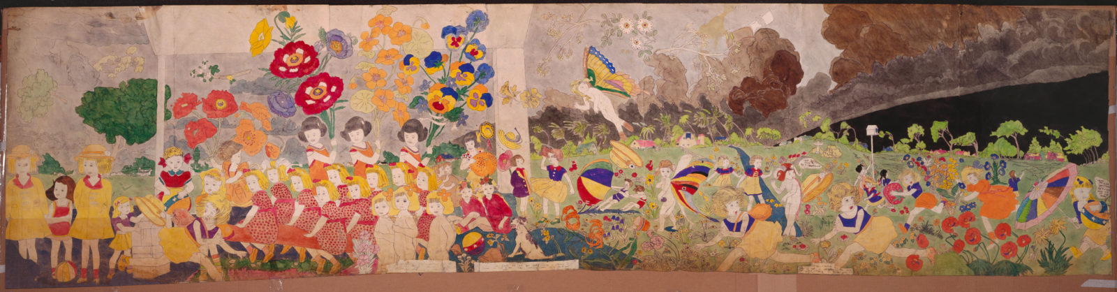 Henry Darger, Storm brewing.