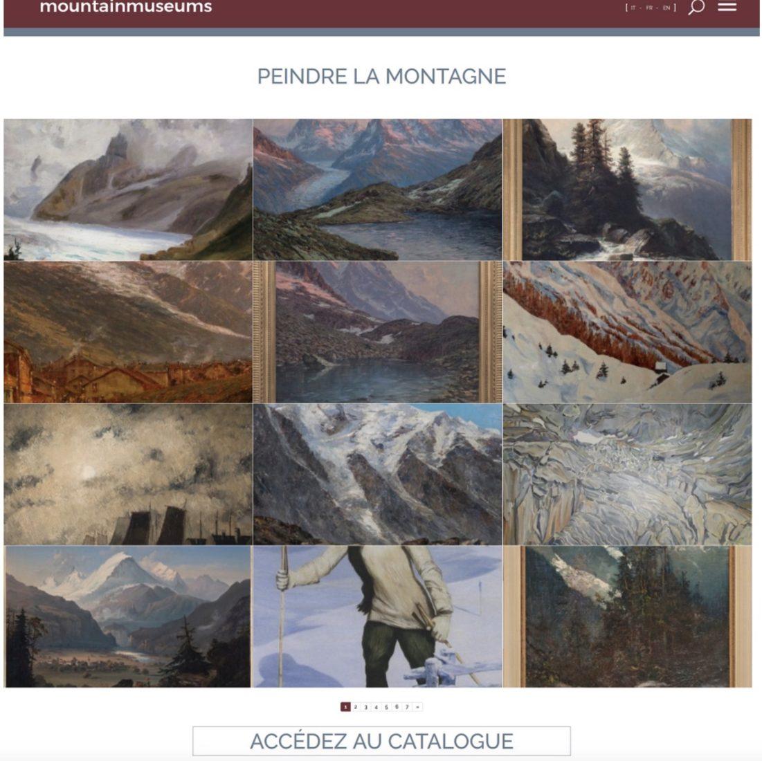 Peindre la montagne - musées alpins de Chamonix et Turin
