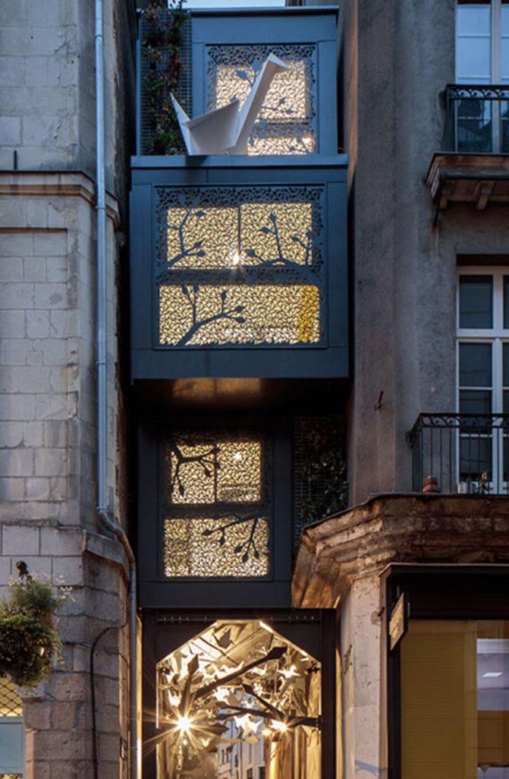 Voyage à Nantes 2020 le plus petit hôtel