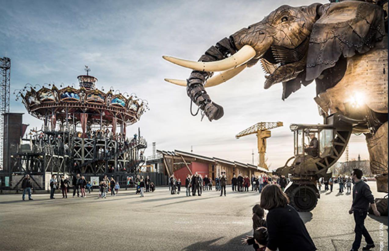 Voyage à Nantes 2020 l'éléphant