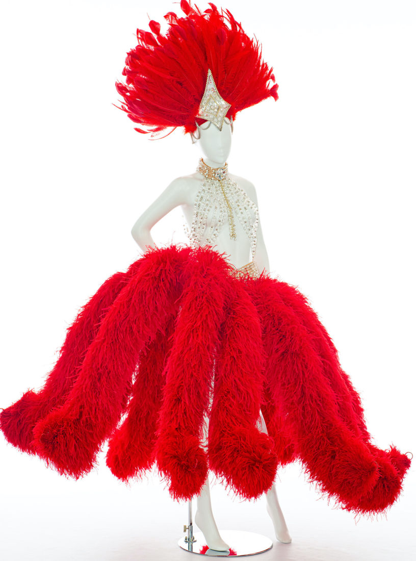 Costume du Moulin Rouge. Revue Féerie. © Pascal Auvé