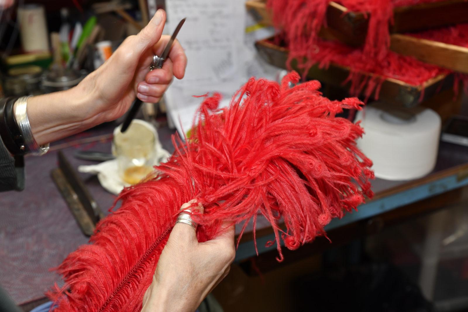 Dans l'atelier du Moulin Rouge © Pascal Auvé