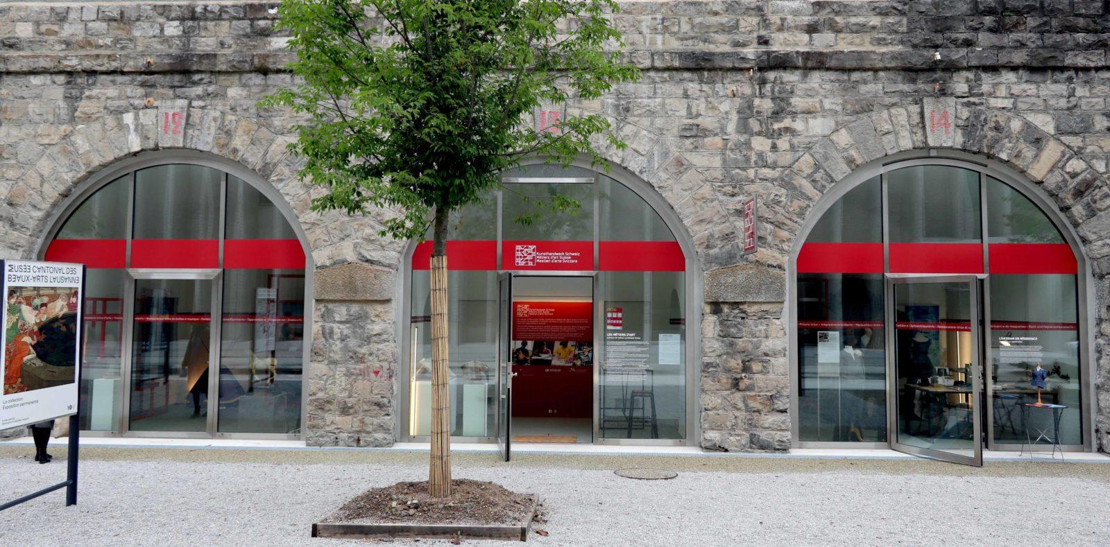 Arcades site muséal 10 Lausanne