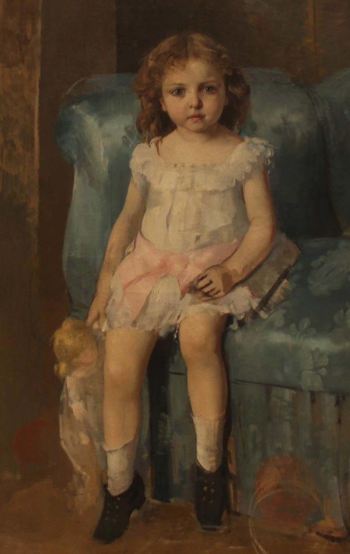 Léon Gaud - La fille de l'artiste