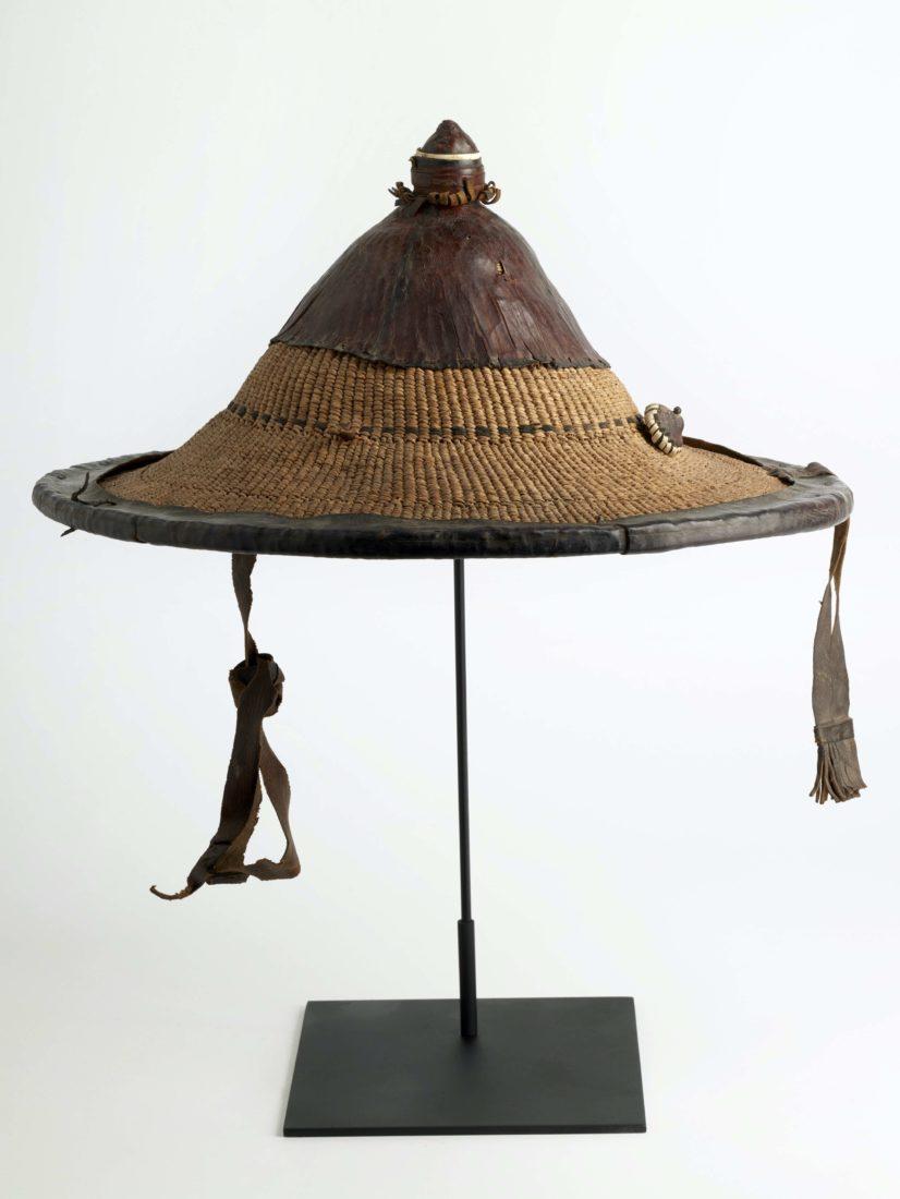Chapeau homme Tchad Musée des Confluences