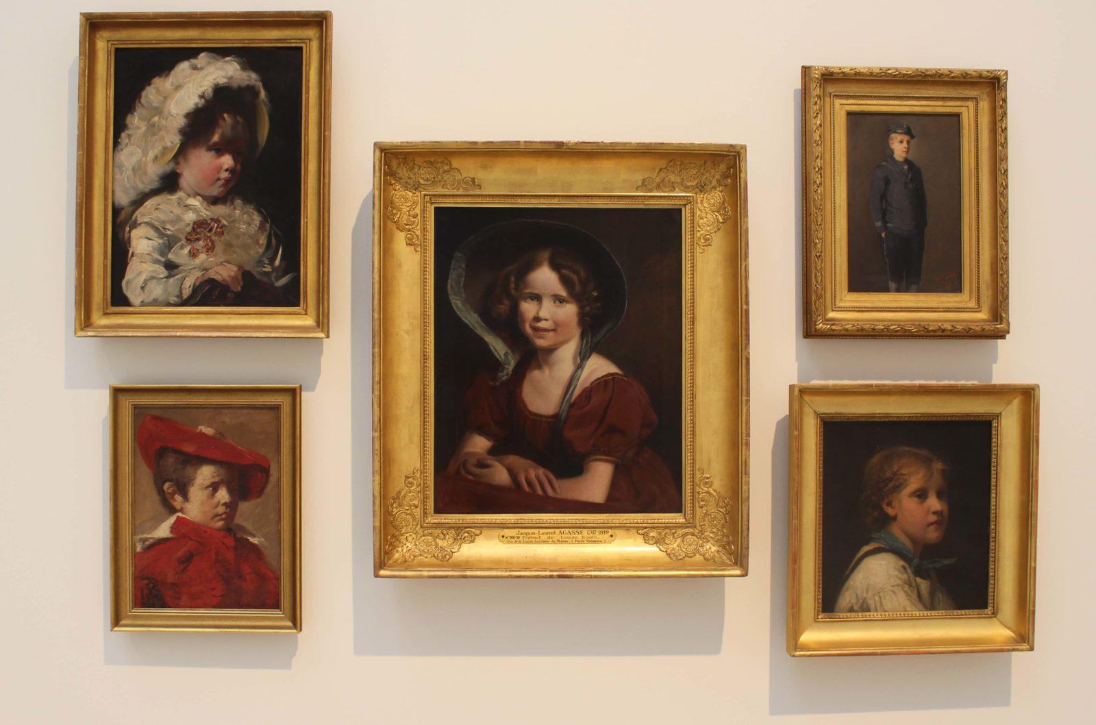 Portrait de la jeune Louisa Booth