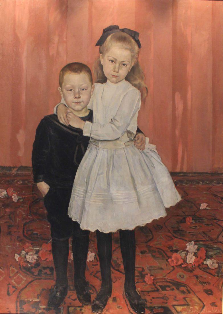 Sophie et Louis Weber, par Ferdinand Hodler