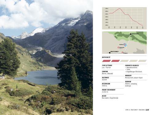 Le guide Via Alpina - une étape