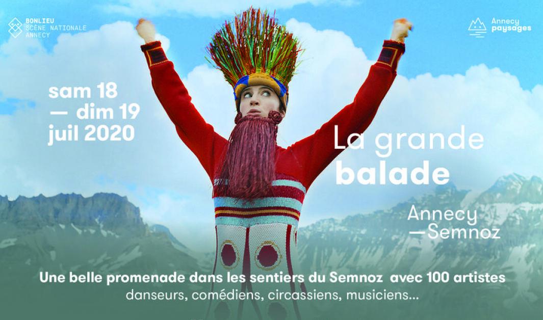 Annecy La grande balade 2020 Affiche