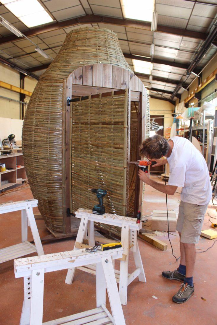 Déambulons toilettes en bambou