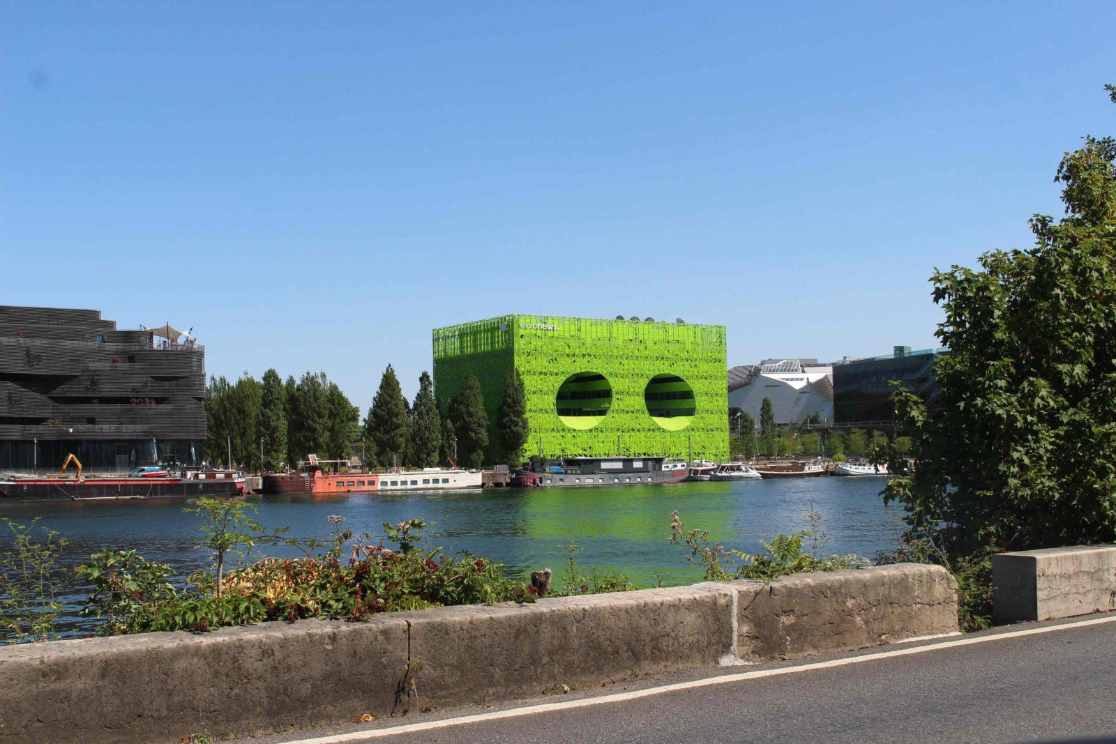 Confluences Lyon cube vert