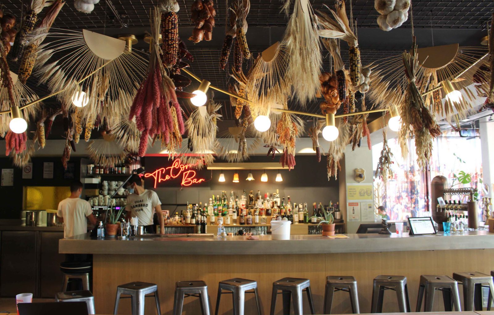 MOB Hòtel Lyon, le bar bio