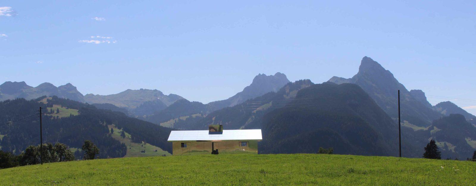 Maison Miroir Gstaad- vue montagnes