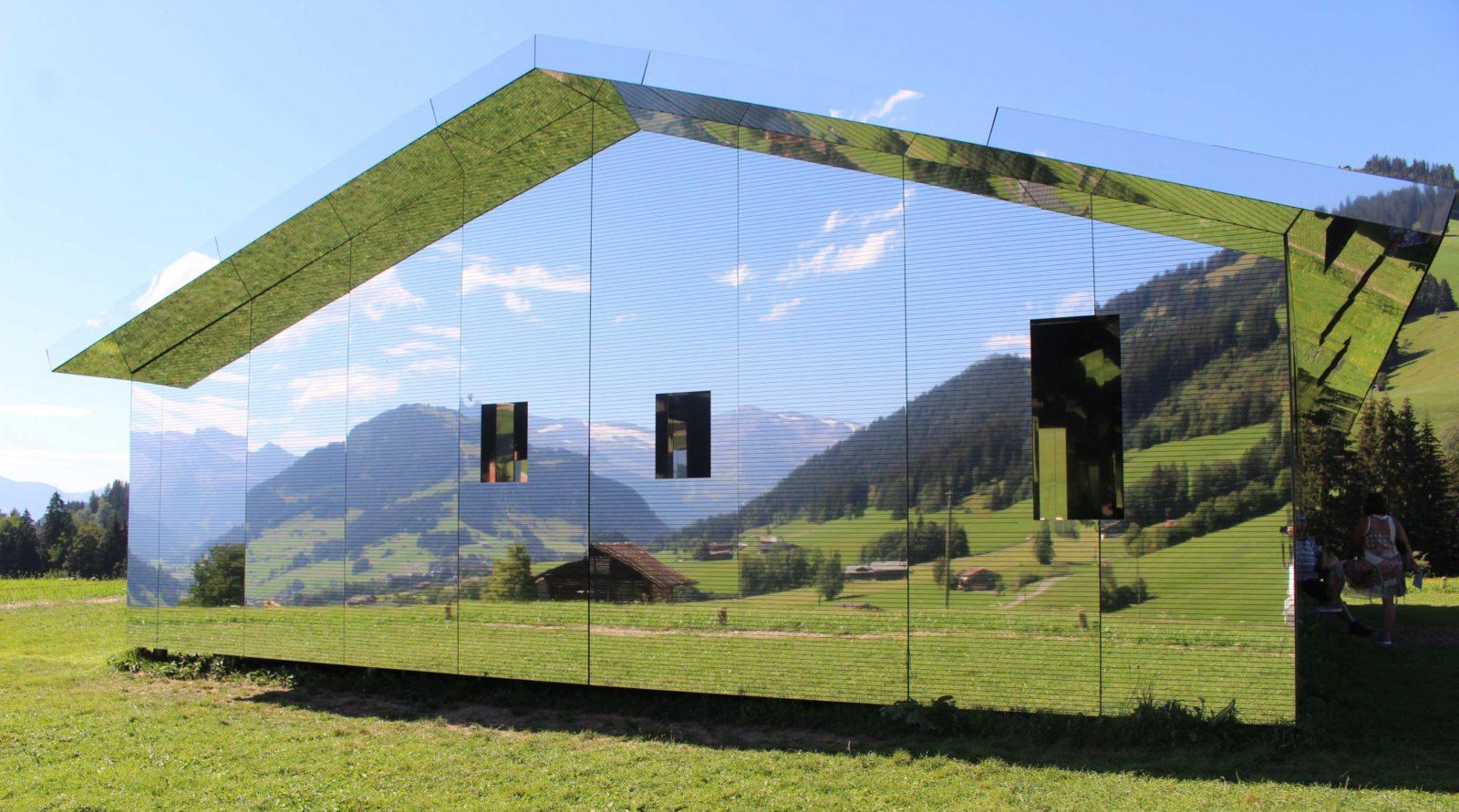 Mirage Gstaad la maison Miroir