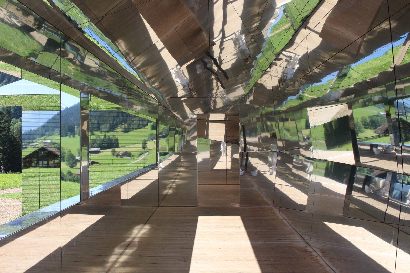 Mirage Gstaad vue de l'intérieur